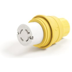 Woodhead Watertite Wet Location Locking Blade Connector for M Receptacle