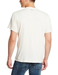 Blurr Men's Organic Cotton My Pixel Life T-Shirt - Vanilla Ice - Size: L