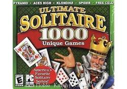 Valusoft Computer Game Ultimate Solitaire - 1000 Unique Games
