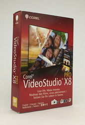 Corel VideoStudio Pro X8 Windows Platform (VSPRX8MLMBAM)