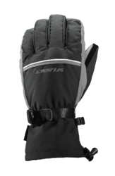 Seirus Innovation Slider Glove - Black/Charcoal - Size: Medium