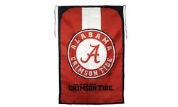 """Little Earth NCAA Alabama Tide Team Fan Flag - Red - Size: 31.5"""" x 47"""""""