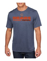 VF LSG NFL Men's Posted Victory IV Crew Neck Tee - N Heather - Size: XXL