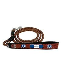 GameWear NFL Indianapolis Colts Football Leather Rope Leash - Brown