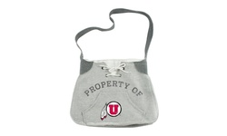 Little Earth NCAA Utah Utes Hoodie Sling - Gray - Size: One Size