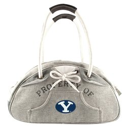 Liitlearth Women's NCAA Hoodie Bowler Purse - Grey - Size: One