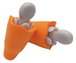 Jackson Safety H30 Multiple-Use ComfortFlex Uncorded Earplug, NRR25 (Case of 200) by Jackson Safety