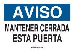 Brady 38338, Spanish Sign (Pack of 10 pcs)