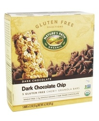 Nature's Path Organic Chewy Granola Bars Dark Chocolate Chip - 5 Bars