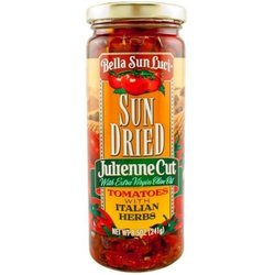 Bella Sun Luci 8.5 oz. Sun Dried Tomatoes Julienne Cut Tomatoes in Oil
