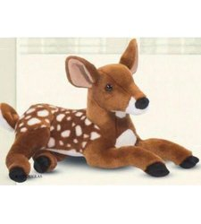 Douglas Cuddle Dawn Fawn Plush Toy - Size: 15""