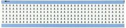 "Brady 1.5""L Marker B-500 Vinyl Cloth Solid ""A"" Wire Marker Card (WM-A-PK)"