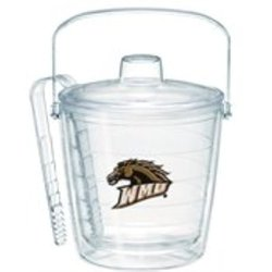 Tervis Western Michigan University Emblem Individually Boxed Ice Bucket, 87 oz, Clear