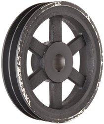 "Martin Class 30 Gray Cast Iron 6.25"" OD 2 Grooves V-Belt Sheave"