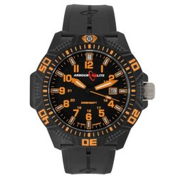 Armourlite Caliber 47mm Watch w/ Rubber Band w/ Free Shipping   8 models