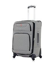 """SwissGear Travel Gear 24"""" Spinner  - Pewter"""