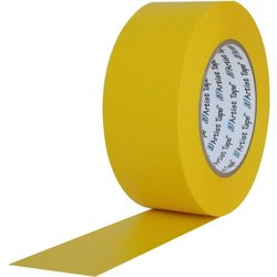 ProTapes Artist Tape Flatback Printable Paper Board Tape 72 Pack - Yellow