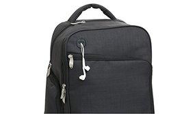 Baby Boom XLR8 Connect & Go Back Pack Diaper Bag - Black
