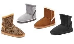 Serene Women's Comfort Sandy Boots - Leopard - Size: 7.5