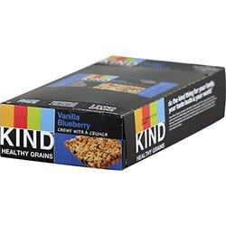 KIND 1.2 oz Healthy Grains Bar - Vanilla Blueberry - 12/Box