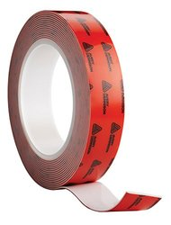 Avery Dennison AFB 6411W Double Sided Acrylic Foam Tape, White, 108 ft x 0.5 in, 43.3 mils Thick