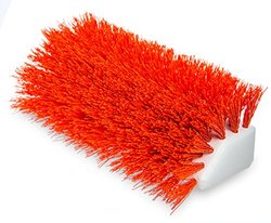 Hi-Lo 10 in. Orange Polypropylene Scrub Brush (Case of 12