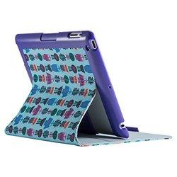 Speck iPad 2/3/4 FitFolio Flower Owl - Teal Wharf