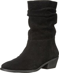 Jessica Simpson Women's Gilford Black Split Suede Boot 8 M