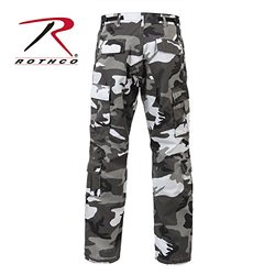 City Camo/Urban Camouflage Paratrooper Cargo Pants - 2XL