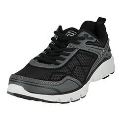Fila Memory Granted Men'sathletic Shoes: Pewter-black-white/9.5
