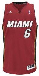 NBA Miami Heat Men's LeBron James Swingman Jersey - Maroon - Size: 2XL