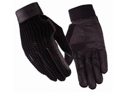 TUFFRIDER Crochet Back Glove - Black 6