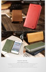 VOIA Italian Vegetable Leather Case for iPhone 5 - Yellow