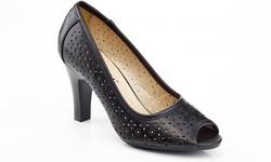 Rasolli Mary Jane Women's Career Shoes - Black - Size: 8.5