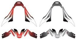 Factory Effex OEM Fender Trim Kit for Honda CBR600RR - Red
