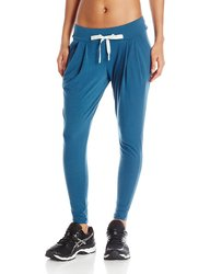 ASICS Women's Sarouel Pants - Dark Teal - Size: XS