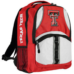 Northwest NCAA Texas Tech Raiders Captain Backpack - Red - Size: One