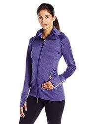 Tamagear Women's Saddleback Full Zip Mid-Layer Jacket, Blueberry, XX-Large