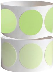 """ProTapes Pro Glow Dots Tape, 60"""" Length x 2"""" Width, 15 mils Thick, For Marking Glow In The Dark (Pack of 6)"""