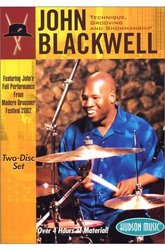 John Blackwell - Technique, Grooving, and Showmanship (DVD)