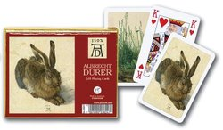 Piatnik A Young Hare Double Deck Playing Cards for Ages 13 & Above