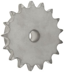 """Stainless Steel Reboreable Type B Hub 0.625"""" Pitch Roller Chain Sprocket"""