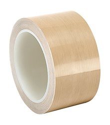 "TapeCase 2.25"" x 36-yd Brown 0.004"" Thick PTFE Film Tape Converted from 3M"