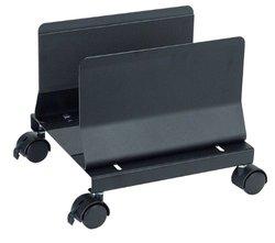 "Aidata 11""x10"" Desk Mobile CPU Stand - Black"