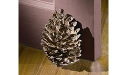 SPI Home 5.5 H x 5 W x 4 D Pinecone Decorative Doorstop