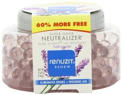 Renuzit Pearl Scents Odor Eliminator, Son Fresh Lavender, 5.64 Ounce