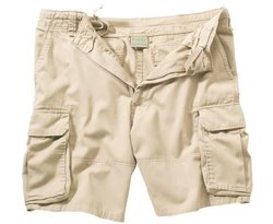 Riot Threads Men's Vintage Cargo Shorts - Khaki - Size: Small