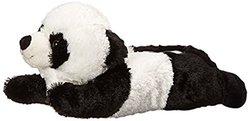 Adult M Size Unisex Black White Panda Animal Plush Fuzzy Slippers