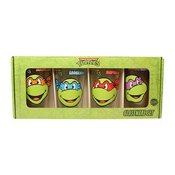 Teenage Mutant Ninja Turtles 16oz Glass c Set NT031P1 4