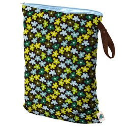 Planet Wise Daisy Dream Wet Diaper Bag - Size: Large